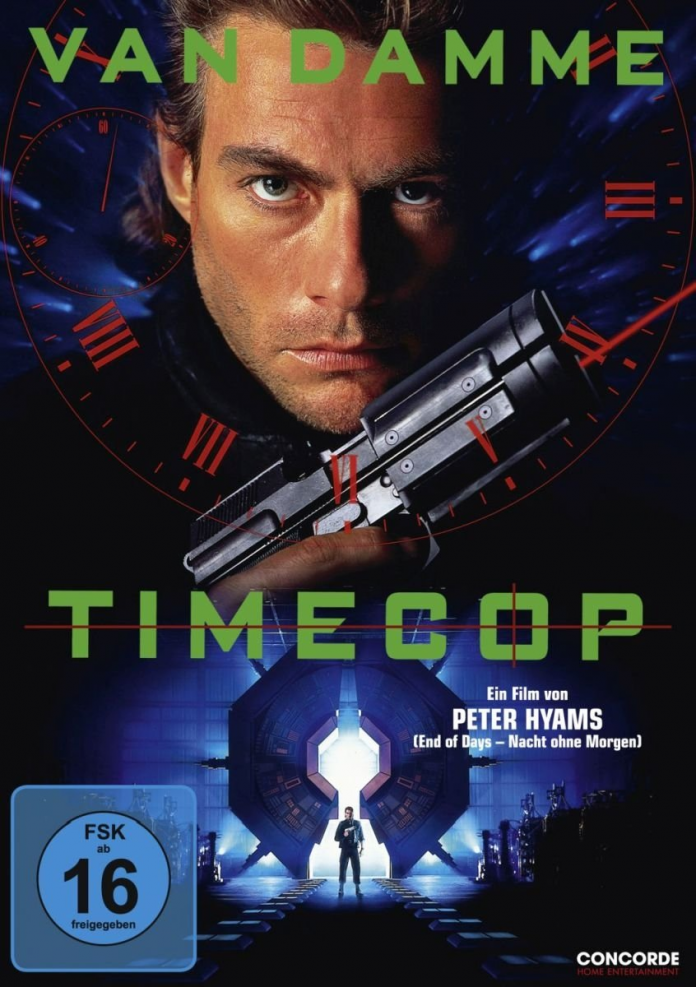 Timecop DVD-Cover