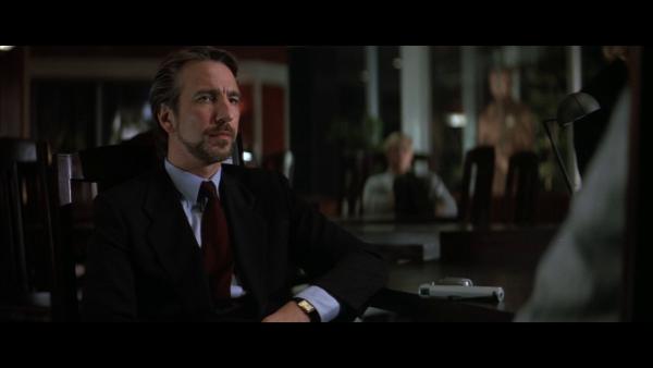Alan Rickman als Jack(Hans) Gruber Quelle: Blu-ray