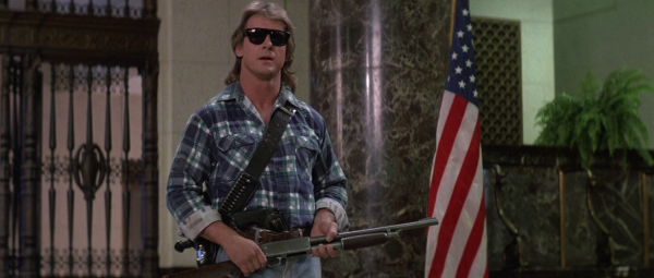 I have come here to chew bubblegum and kick ass... and I'm all out of bubblegum! Roddy Piper in John Carpenter's Sie leben Quelle: Blu-ray