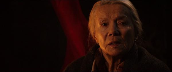 Krista Stadler als Omi Quelle: Blu-ray