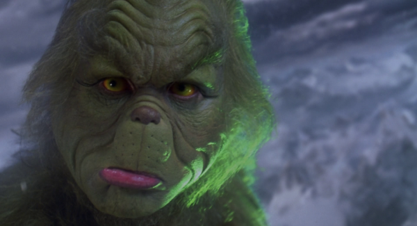 Jim Carrey als Grinch Quelle: Bluray