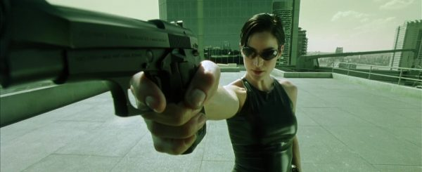 Trinity (Carrie-Anne Moss) Quelle: Blu-ray