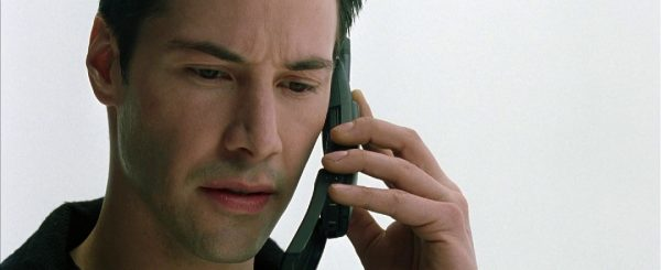 Keanu Reeves als Neo Quelle: Blu-ray