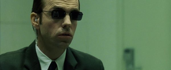 Hugo Weaving als Agent Smith Quelle: Blu-ray