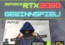 GeForce RTX 3080 Gewinnspiel