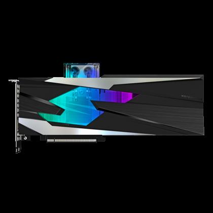 Gigybte RTX 3080 Waterforce OC Grafikkarte Top