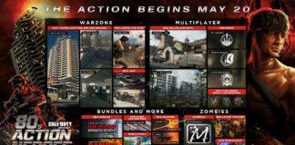 Call of Duty Update - 80er Helden