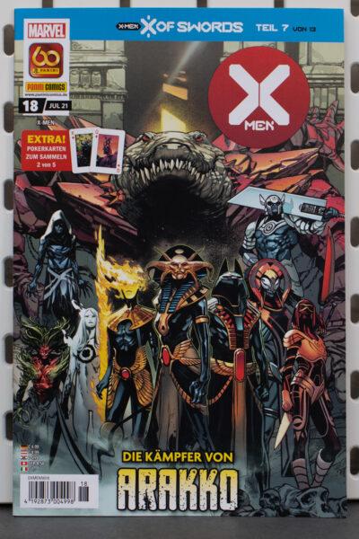 X-Men 18 Die Kämpfer von Arakko Cover