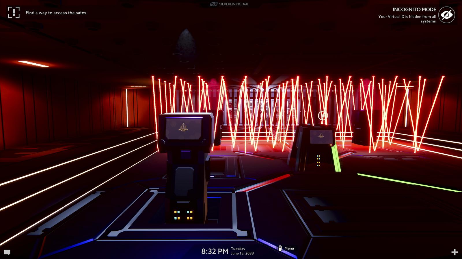 Operation Tango - Laserfalle