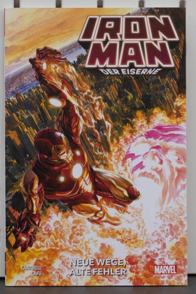 Iron Man Der Eiserne 1 Cover