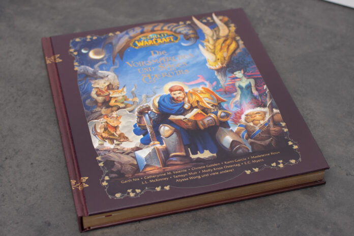 World of Warcraft - Die Volksmärchen und Sagen Azeroths Cover und Einband