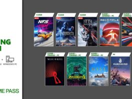 Game Pass August 2021