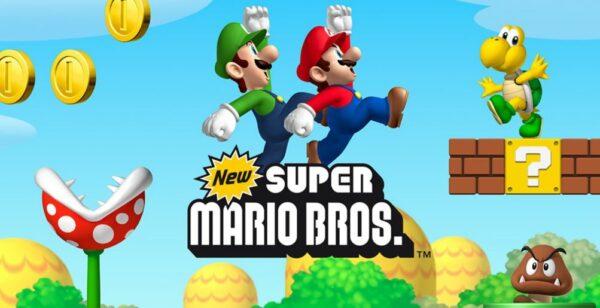 New Super Mario Bros. Titel