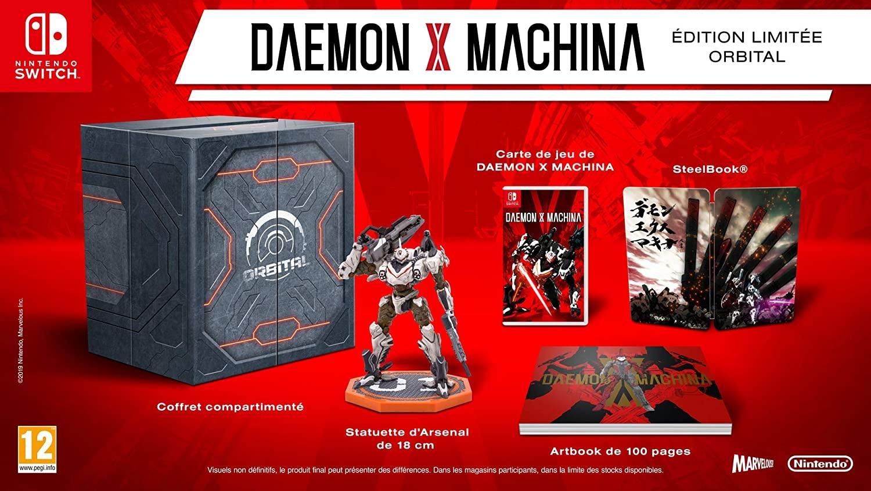 Daemon x Machina Pack