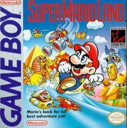 Super Mario Land Packshot