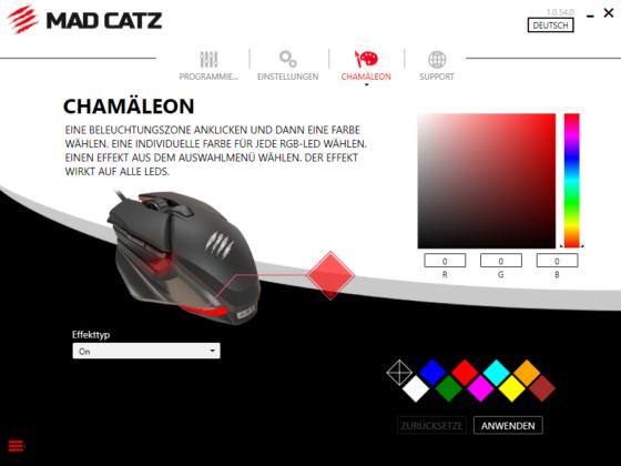 Software RGB Mad Catz BAT 6+