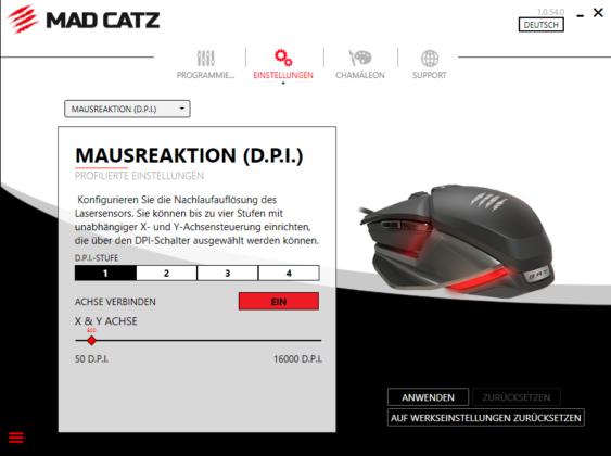 Software DPI Mad Catz BAT 6+