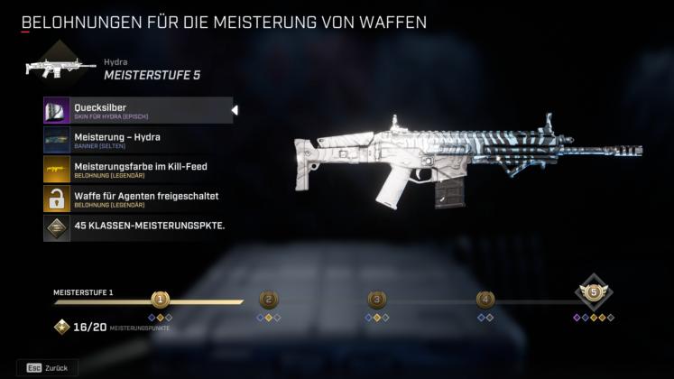 Rogue Company Waffenmastery
