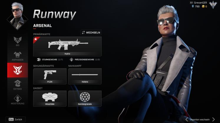 Rogue Company Runway Arsenal