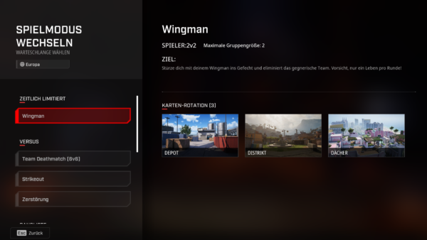Rogue Company Wingman
