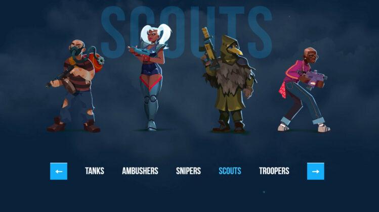 Bullet Echo Class Scouts