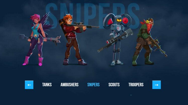 Bullet Echo Class Snipers