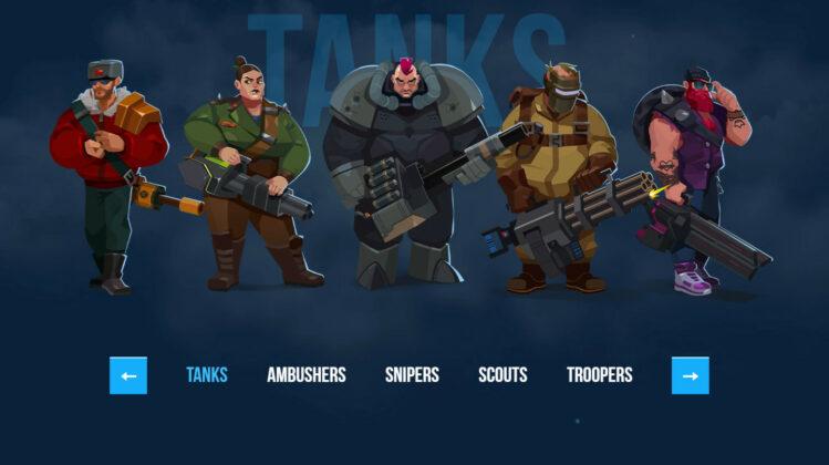 Bullet Echo Class Tanks