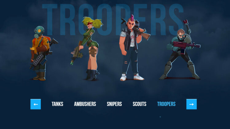 Bullet Echo Class Troopers