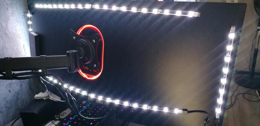 LC-Power LC-M34-UWQHD-144-C-V2 Vesa Beleuchtung