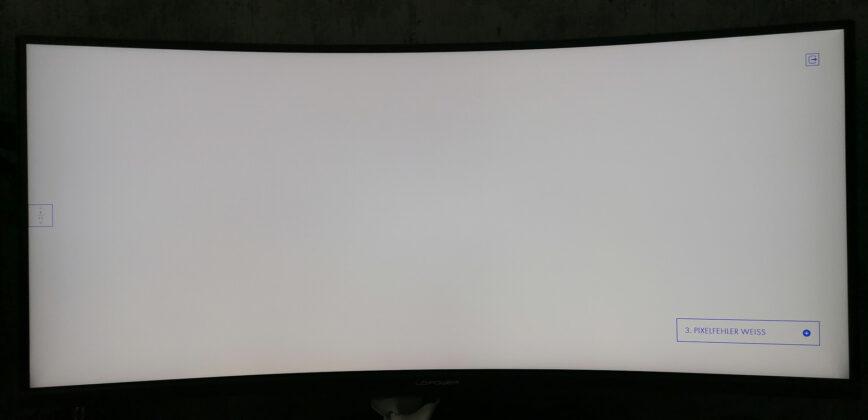 LC-Power LC-M34-UWQHD-144-C-V2 Pixeltest Weiß