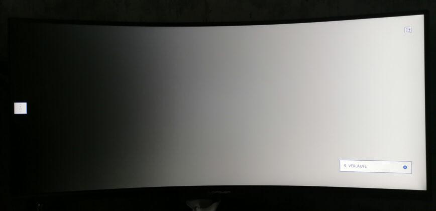 LC-Power LC-M34-UWQHD-144-C-V2 Monitortest Verlauf Weiß