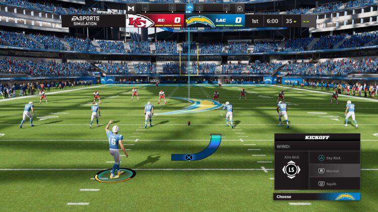 Madden NFL 2022 Kick Off