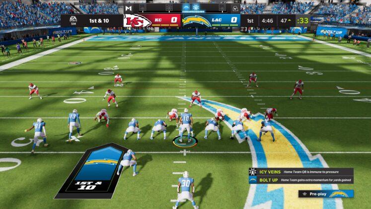 Madden NFL 2022 Angriff