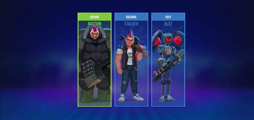 Bullet Echo Team Screen