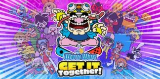 Wario Ware: Get it Together! Titel